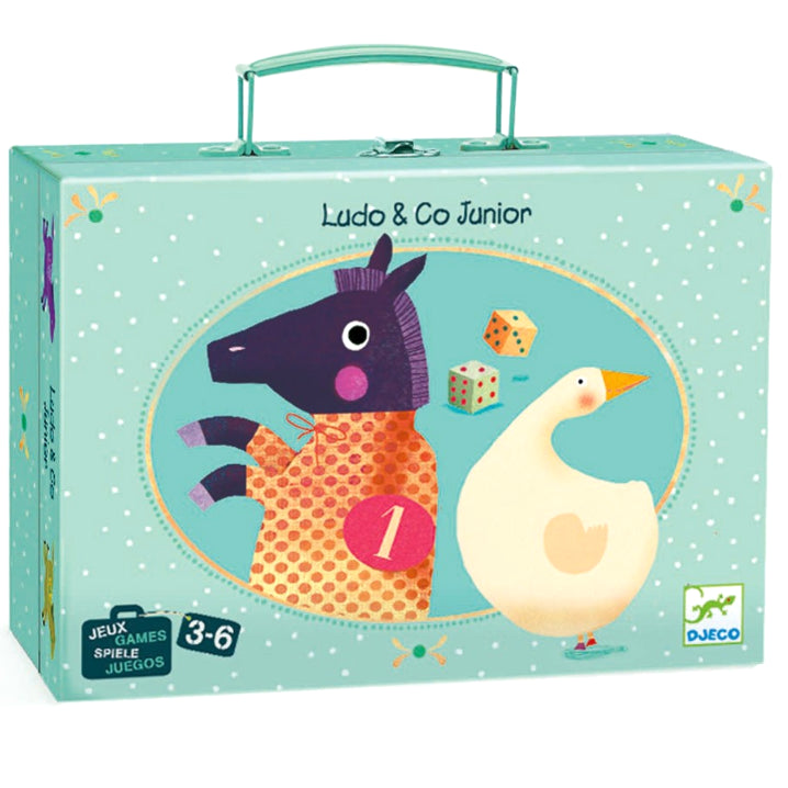 Djeco: gry w walizce Ludo & Co Junior