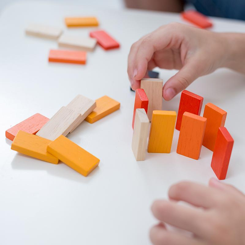 Plan Toys: mini gra Domino Race