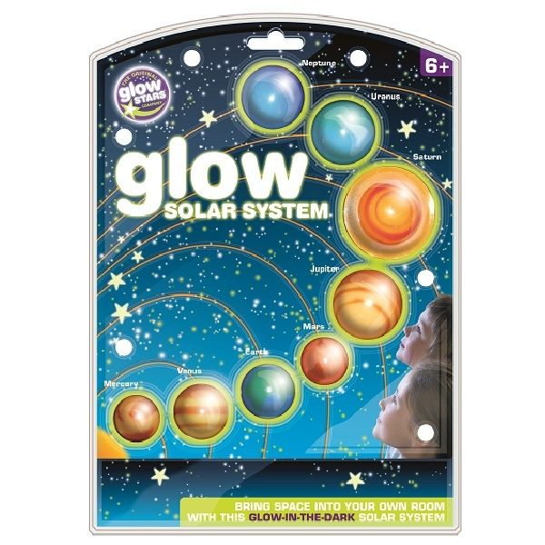Brainstorm Toys: fluorescencyjne planety Glow In The Dark Solar System