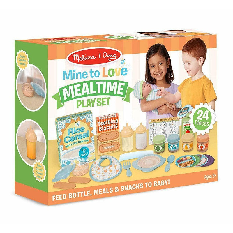 Melissa and Doug: akcesoria do karmienia dla lalek Mine To Love