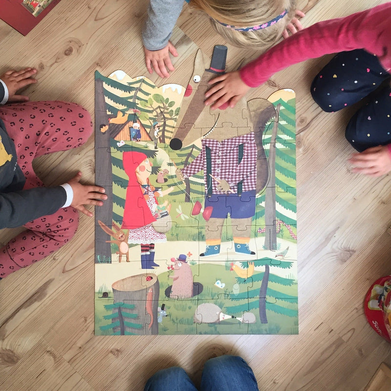 Londji: puzzle Czerwony Kapturek My Little Red Riding Hood 36 el.