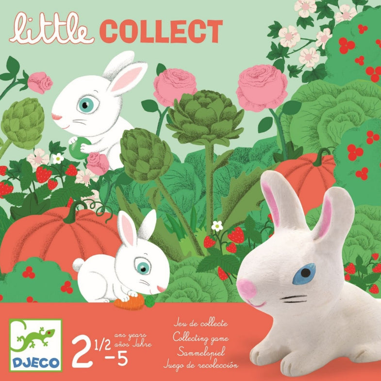 Djeco: gra z króliczkami Little Collect