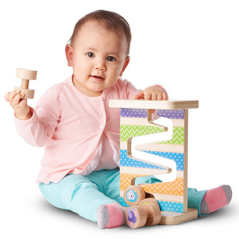 Melissa and Doug: zjeżdżalnia Safari Zig-Zag Tower