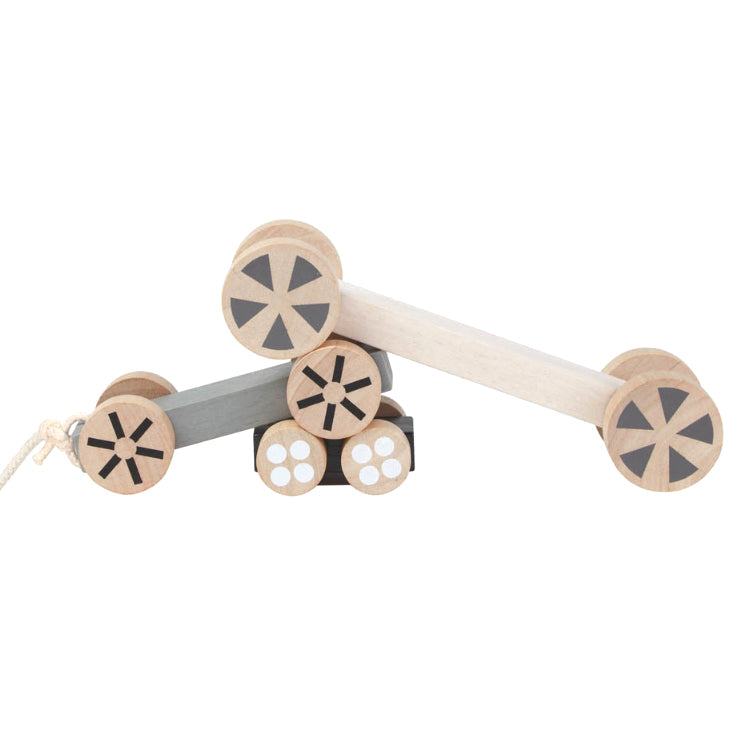 Plan Toys: pojazdy 3w1 Stacking Wheels