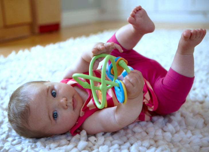Green Toys: motoryczny gryzak Twist Teether