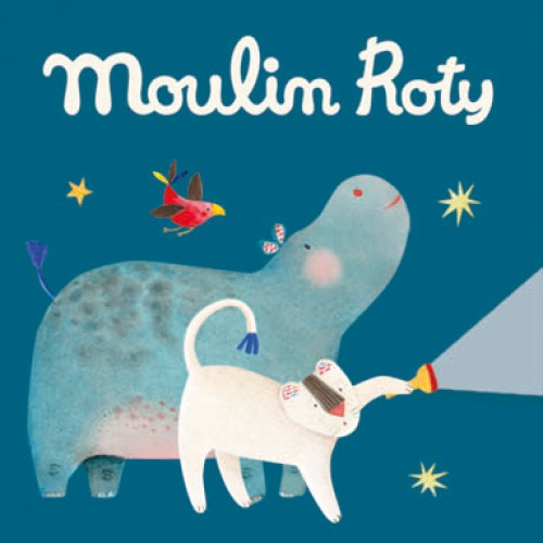 Moulin Roty: wymienne bajki do projektorów Box of 3 Discs