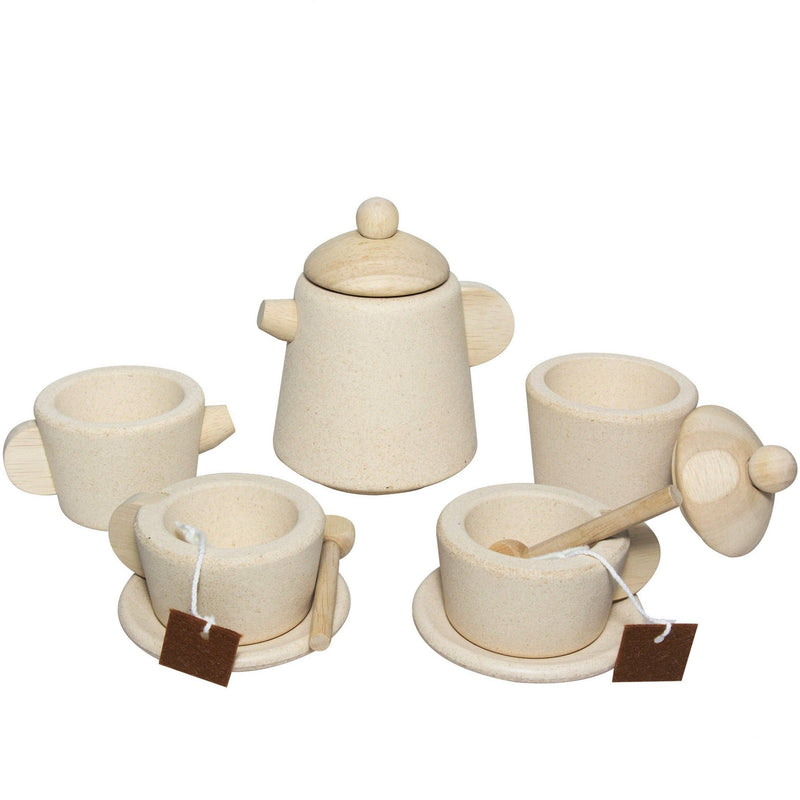 Plan Toys: serwis do herbaty Tea Set Natural