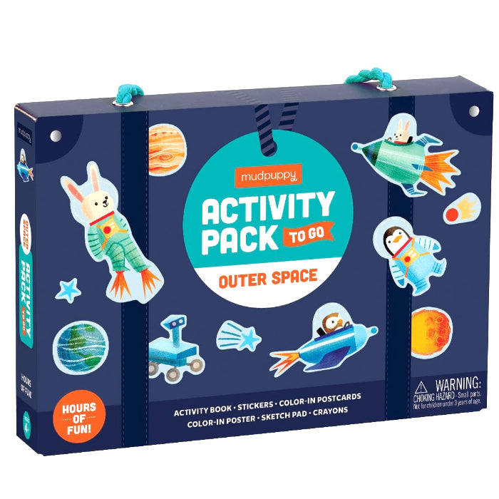 Mudpuppy: zestaw kreatywny Activity Pack to Go Kosmos