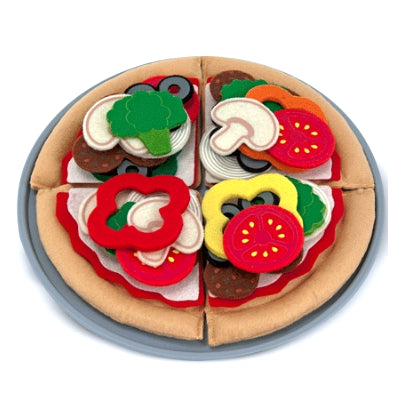 Melissa and Doug: filcowa pizza do układania