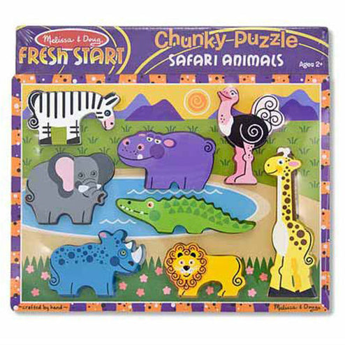 Melissa and Doug: puzzle chunky Safari