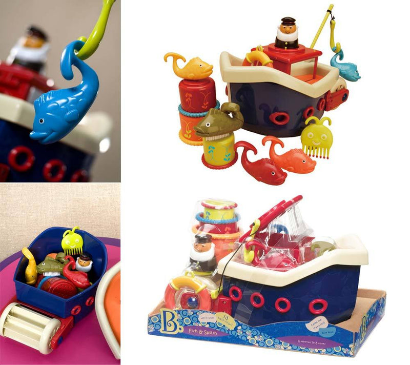 B.Toys: kuter rybacki Fish & Splish