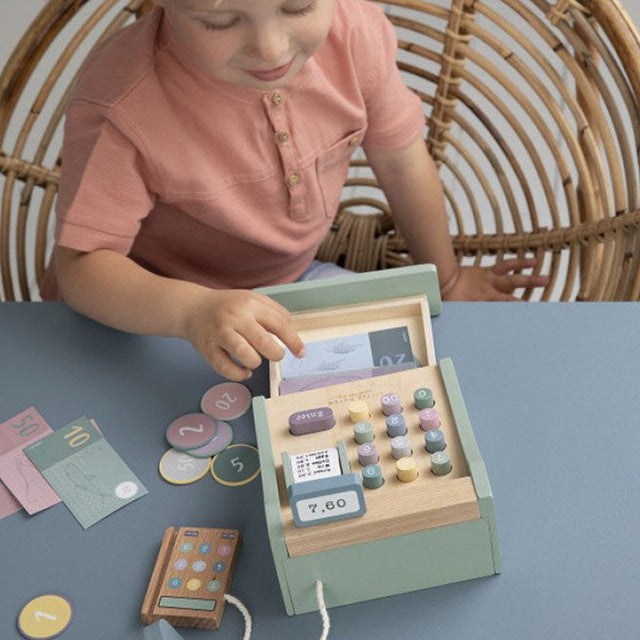 Little Dutch: drewniana kasa Cash Register