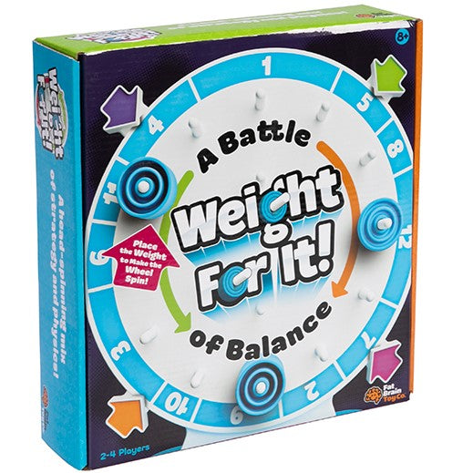Fat Brain Toys: gra logiczna rozważ to Weight For It