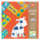 Djeco: gra domino Colours