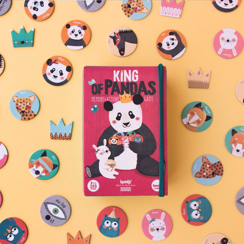 Londji: gra memory King of Pandas