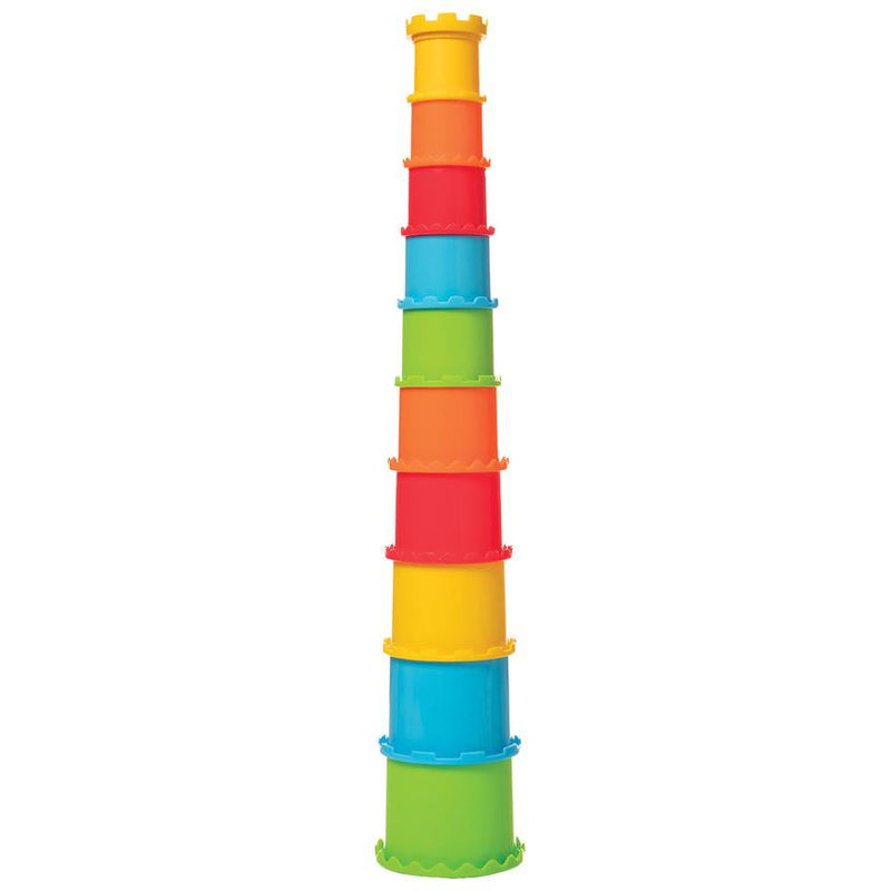 Manhattan Toy: piramida z kubków Stack & Smash Cups