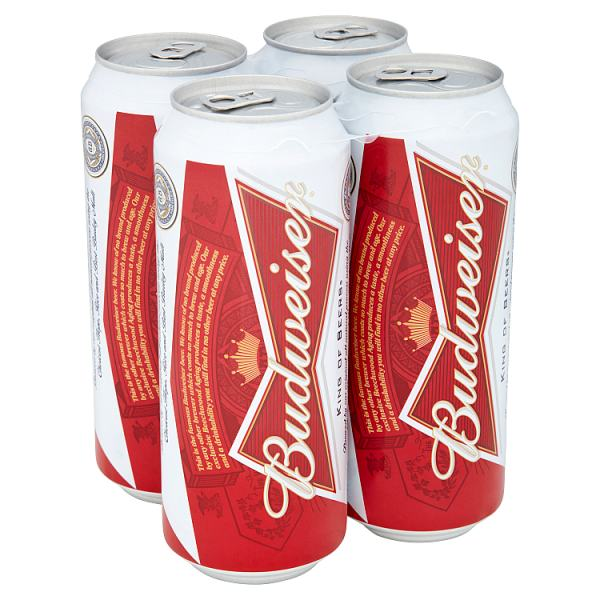 Budweiser PM500 Case of 6 by Drinks Shop