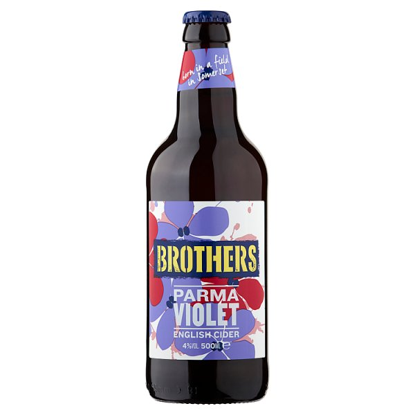 Brothers Parma Violet English Cider 500ml Case of 8 by Drinks Shop