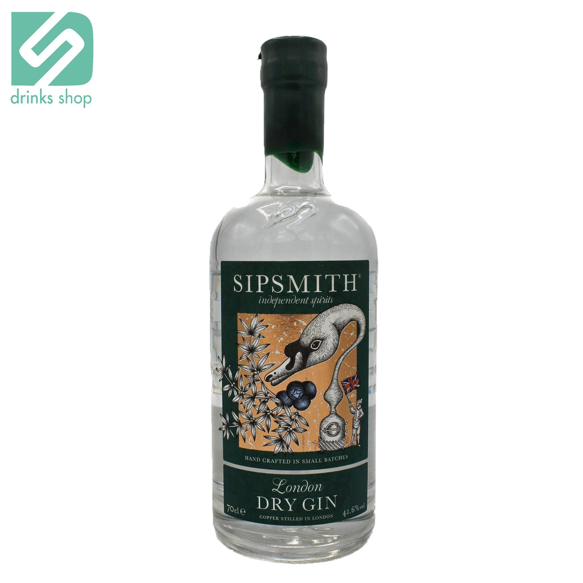 Sipsmith London Dry Gin 70cl, Gin - Image 0