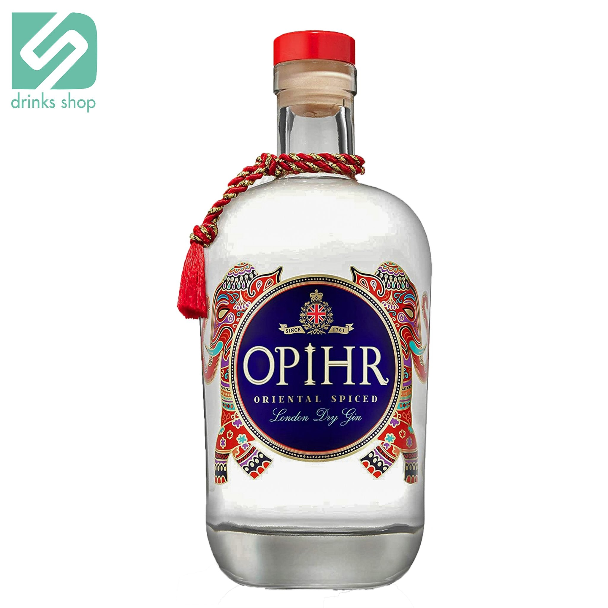 Opihr Oriental Spiced London Dry Gin 70cl, Gin - Image 1