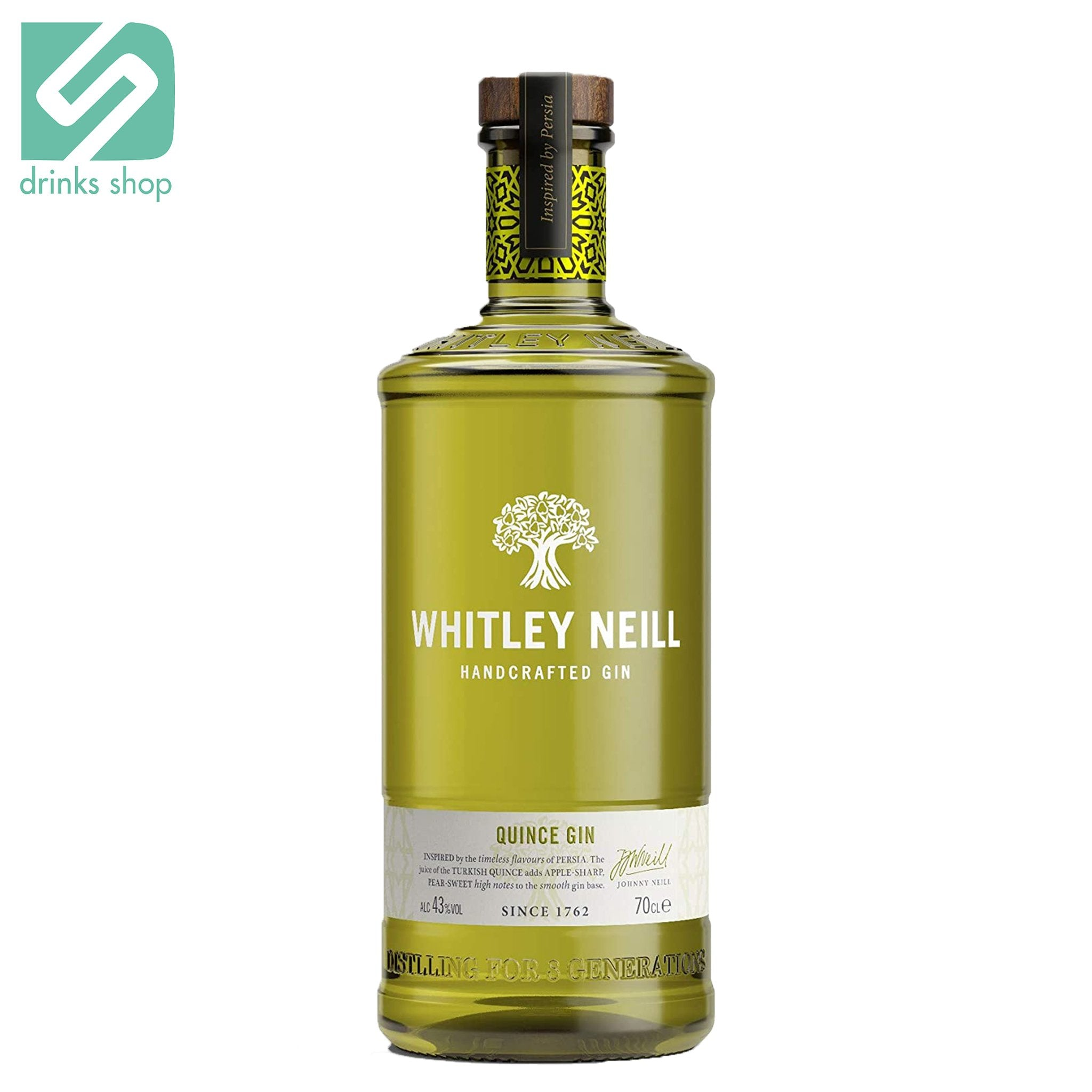 Whitley Neill Quince Gin 70cl, Gin - Image 1