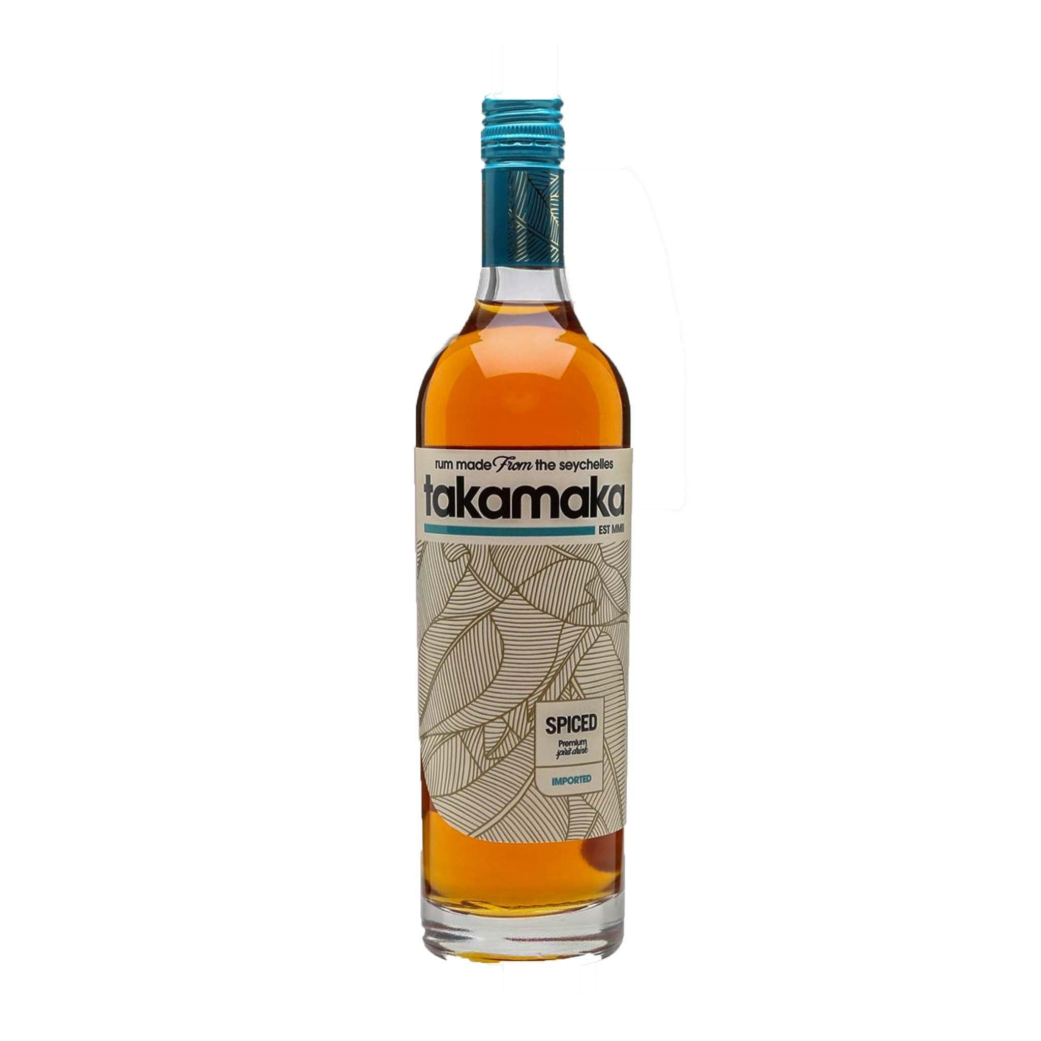 Takamaka Spiced Rum, Alcoholic Beverages by Drinks Shop