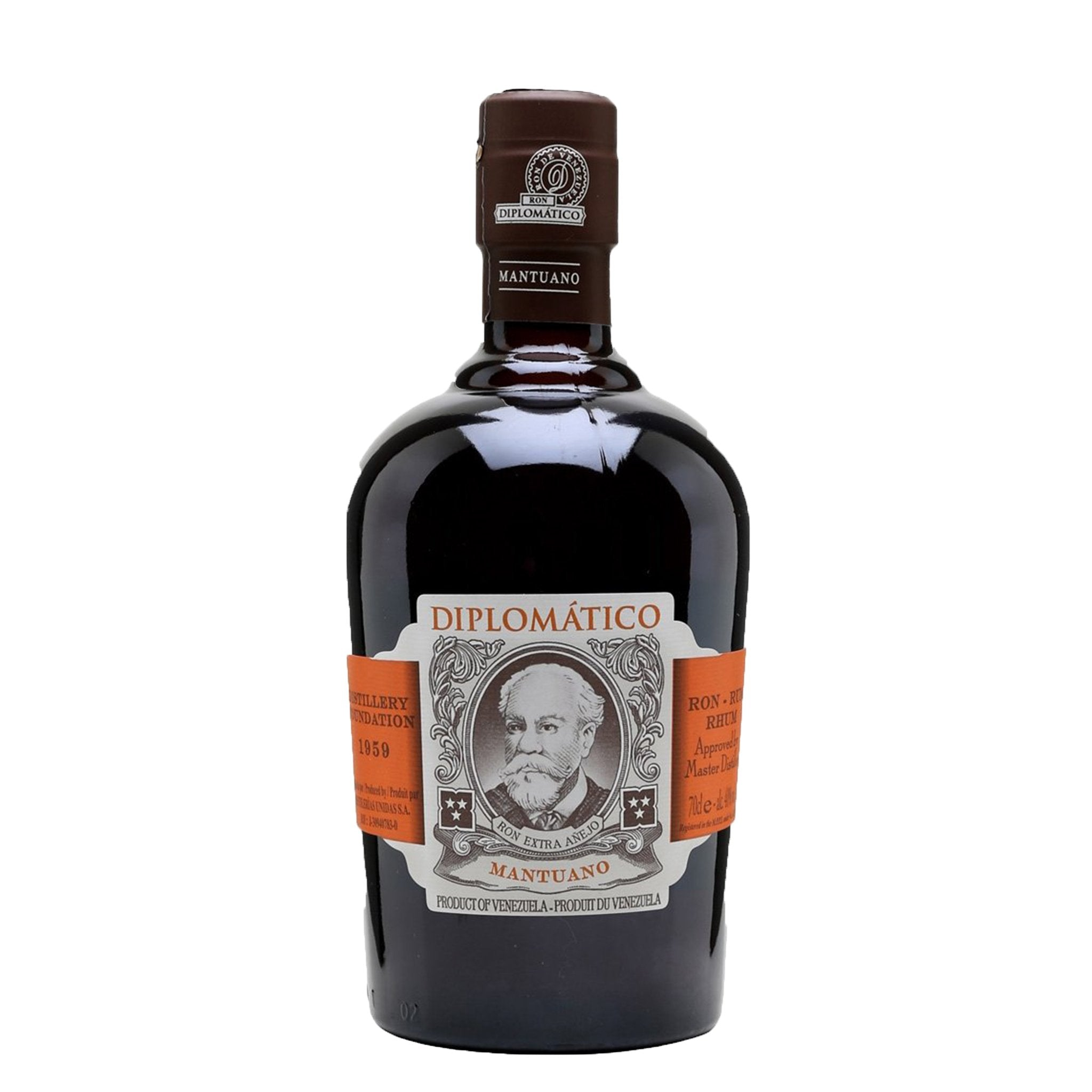 Diplomático Mantuano Rum 70cl, Alcoholic Beverages by Drinks Shop