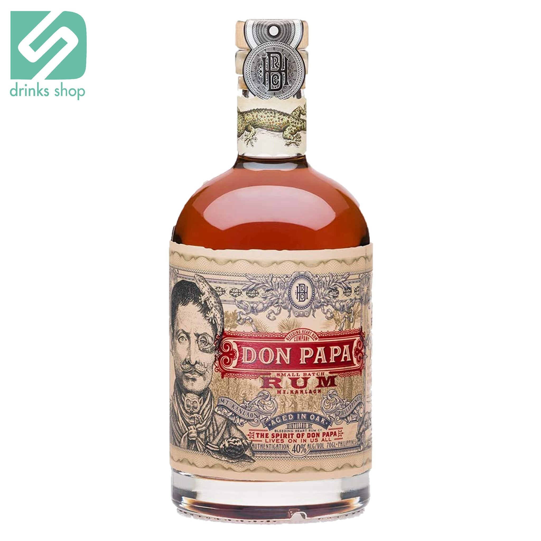 Don Papa Aged in Oak 70cl, Rum - Image 1