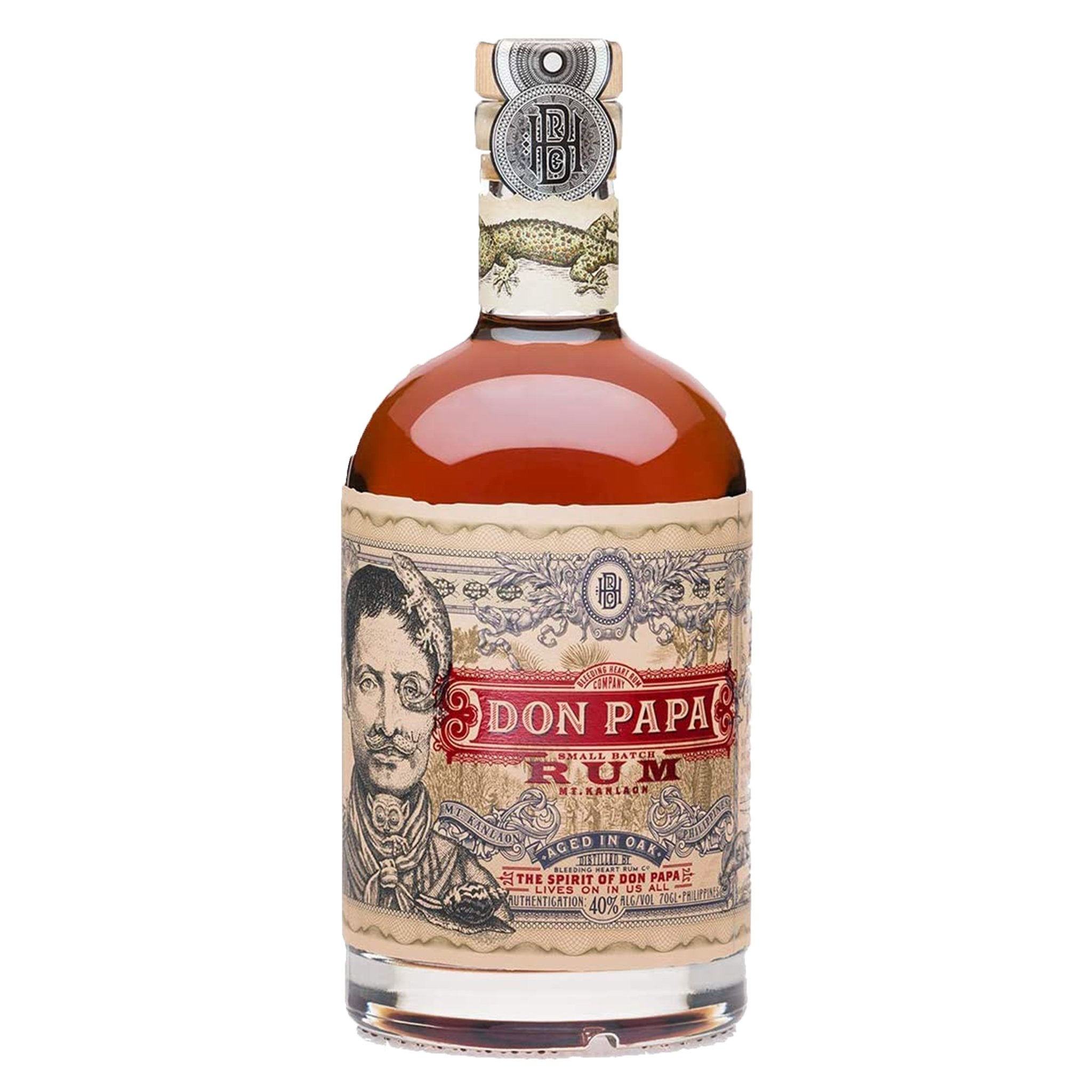 Don Papa Aged in Oak 70cl, Rum - Image 0