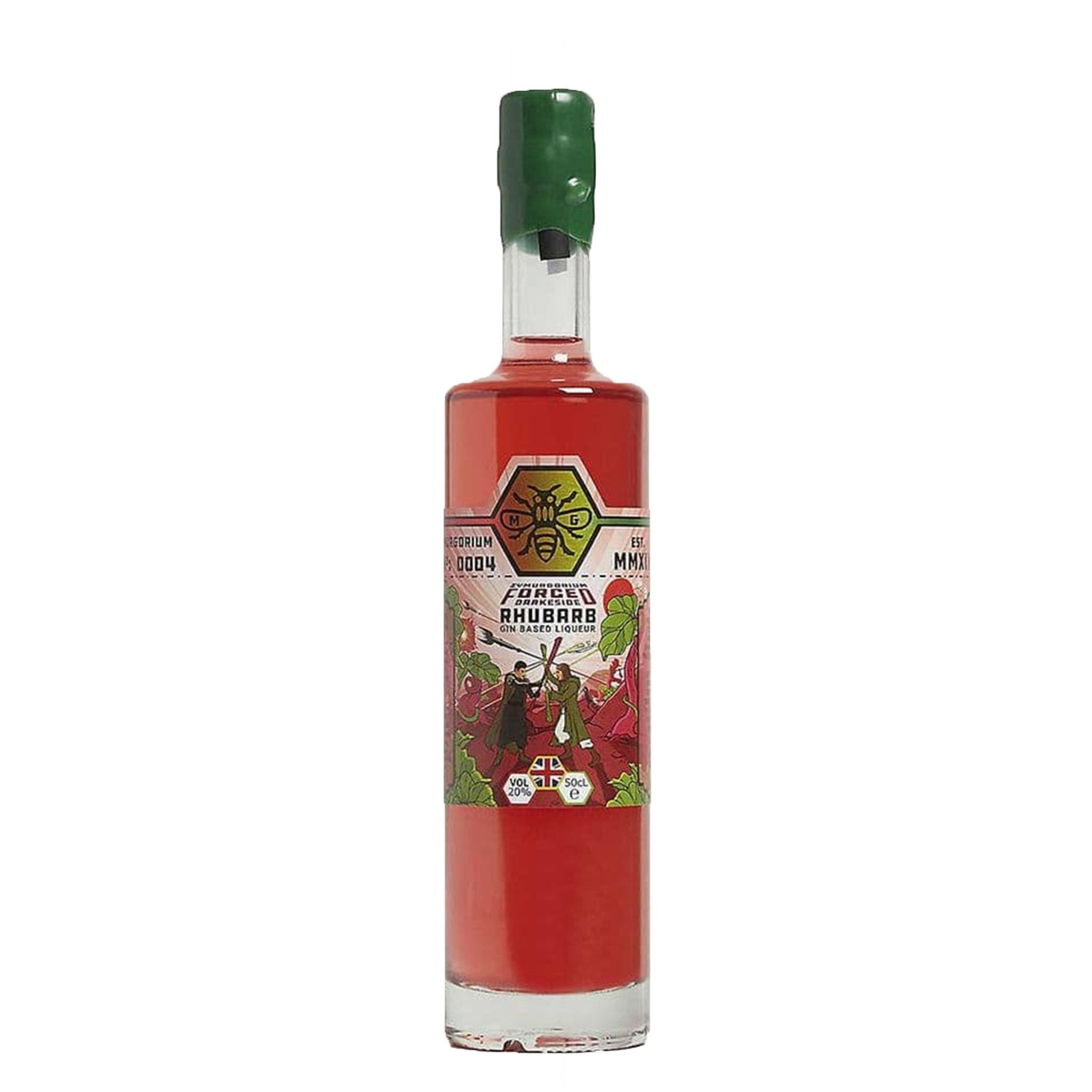 Zymurgorium Forced Darkside Rhubarb Gin Based Liqueur 50cl, Alcoholic Beverages by Drinks Shop