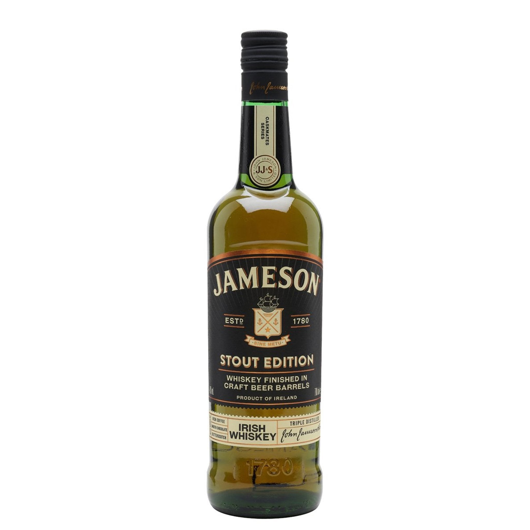 Jameson Stout Edition Irish Whiskey 70cl, Whisky by Drinks Shop
