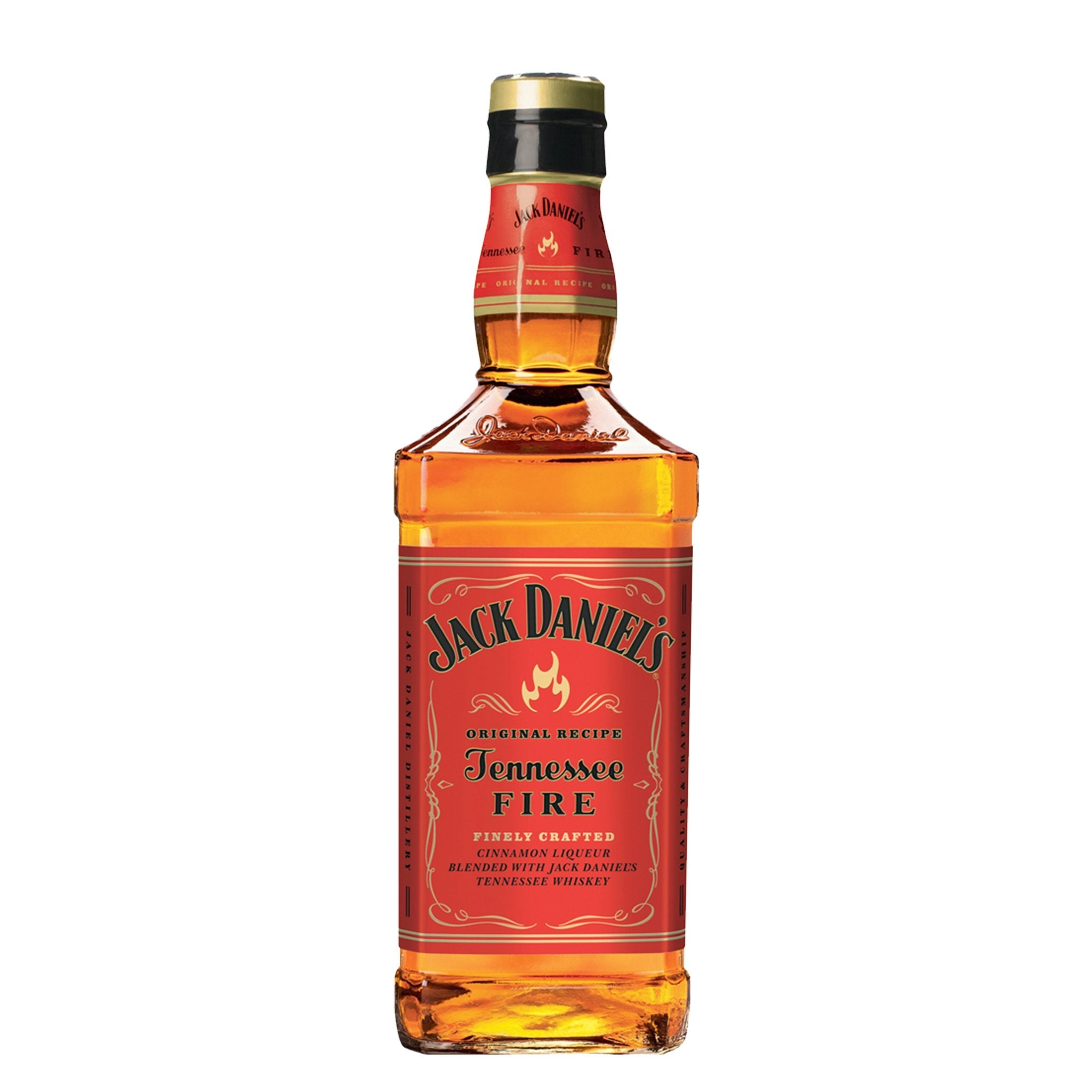 Jack Daniel's Tennessee Whiskey Blended with Cinnamon Liqueur 70cl, Beverages by Drinks Shop