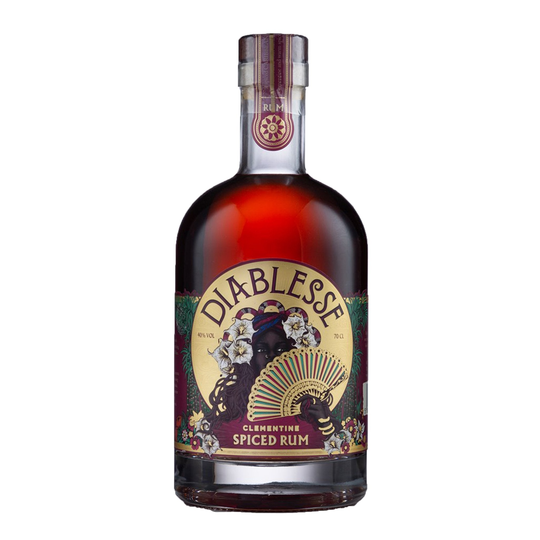Diablesse Clementine Spiced Rum 70cl, Rum by Drinks Shop