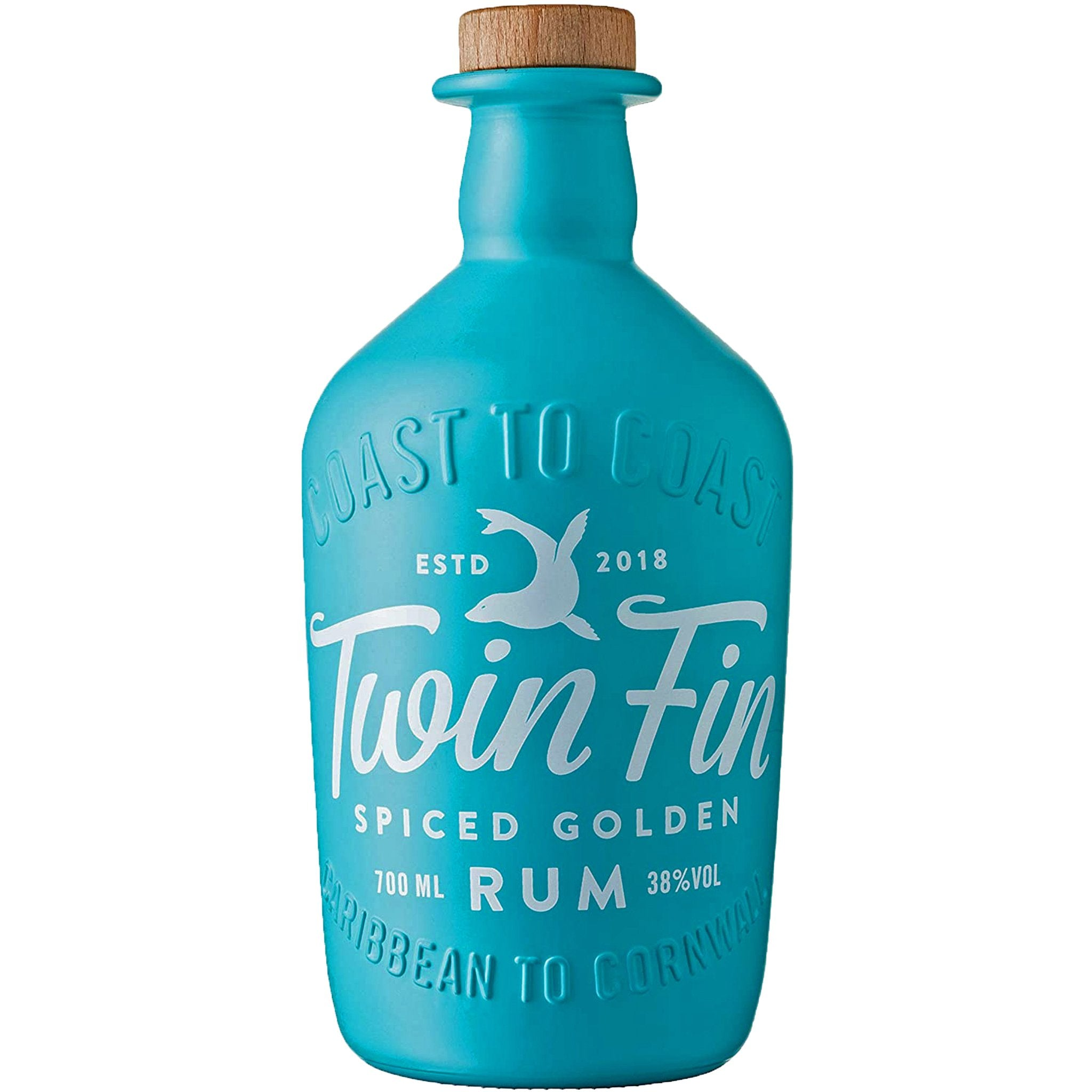 Twin Fin Spiced Golden Rum 70cl, Rum by Drinks Shop