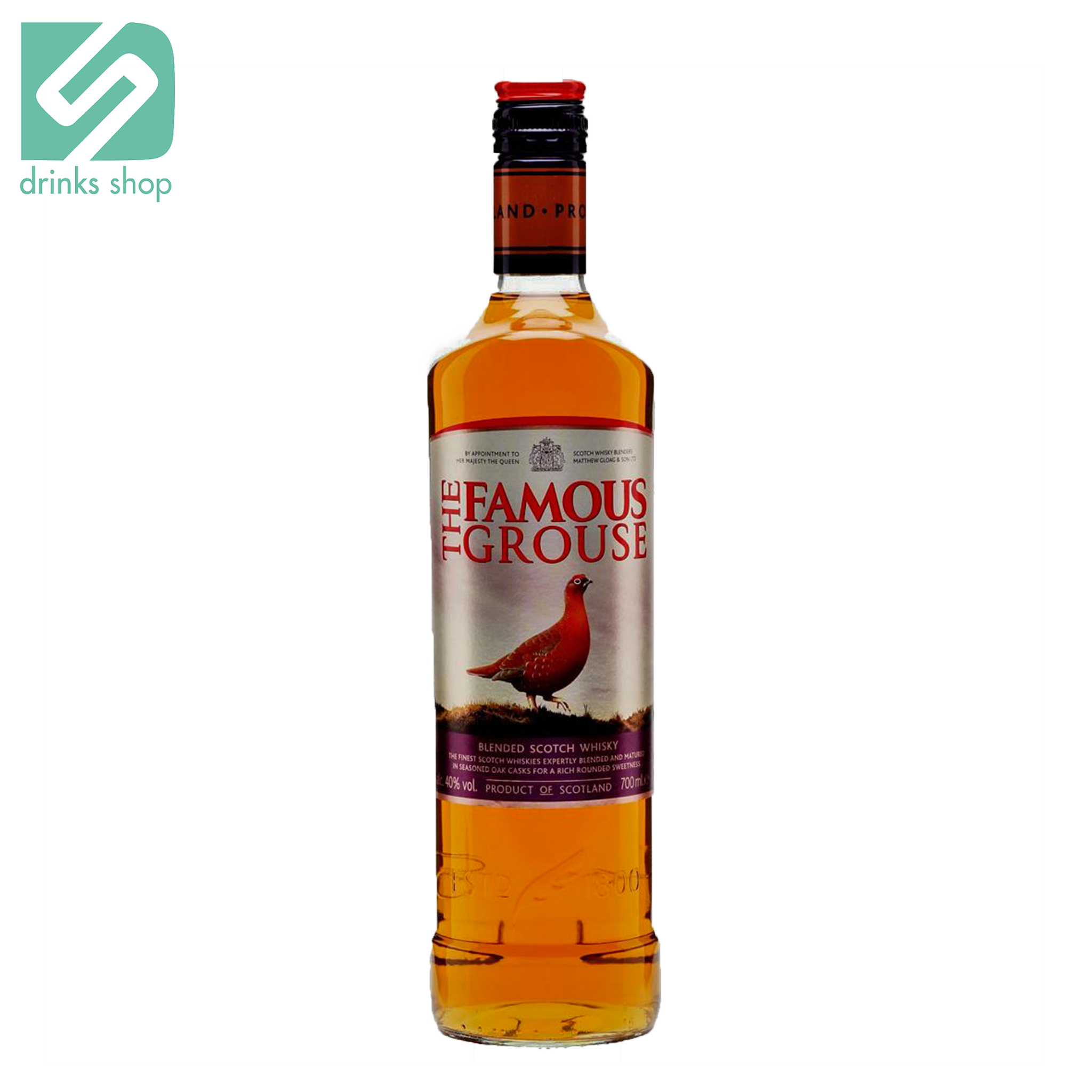 The Famous Grouse Finest Blended Scotch Whisky 70cl, Whisky - Image 1