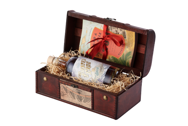 Spiced Rum Gift Chest   The Pirate Range, Rum - Image 0
