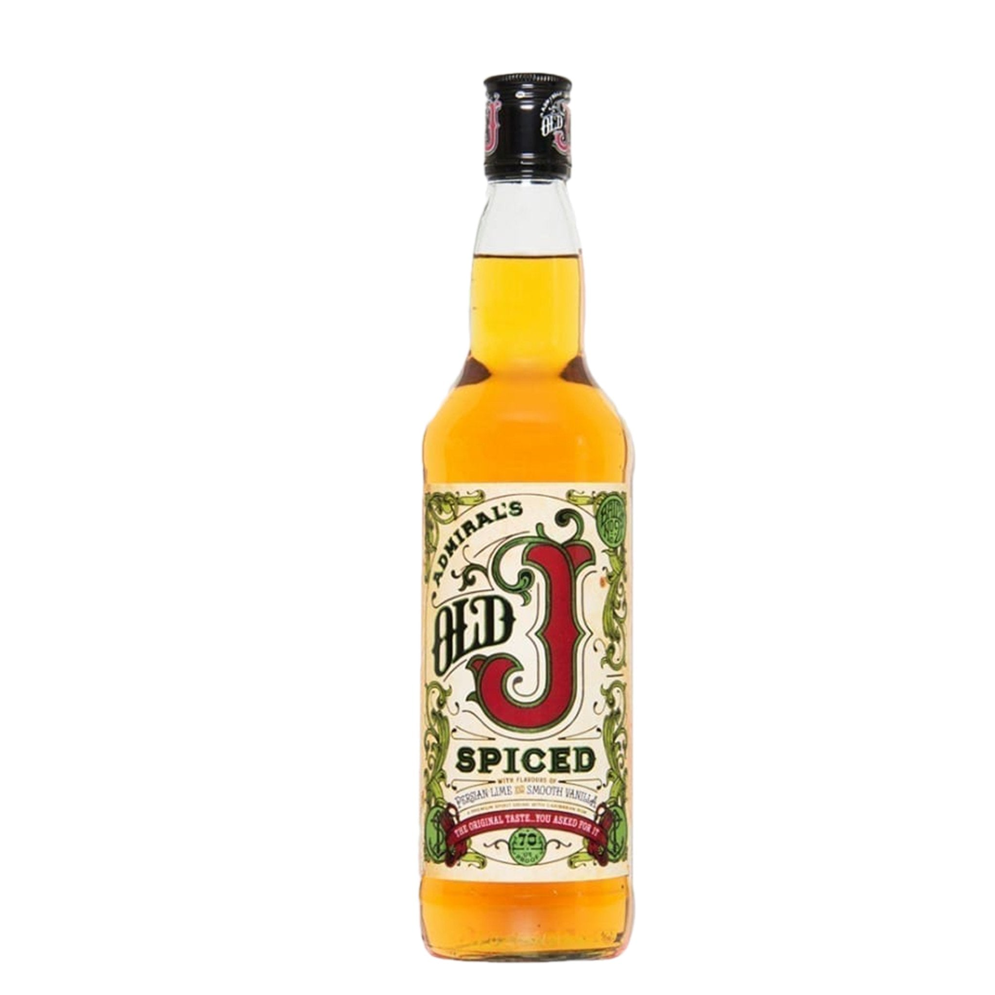 Admirals Old J Spiced 70cl, Rum - Image 0