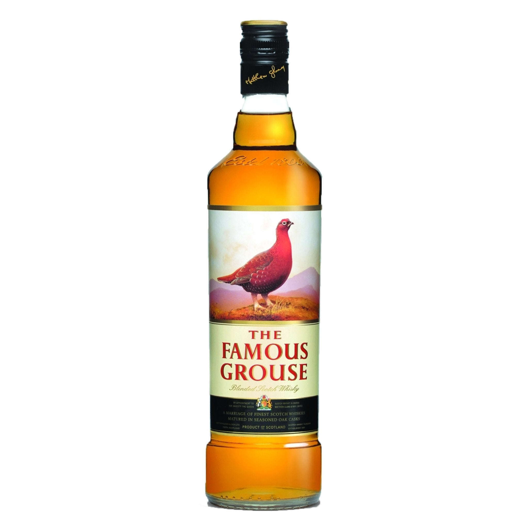 The Famous Grouse Finest Blended Scotch Whisky 1 Litre, Liquor & Spirits by Drinks Shop