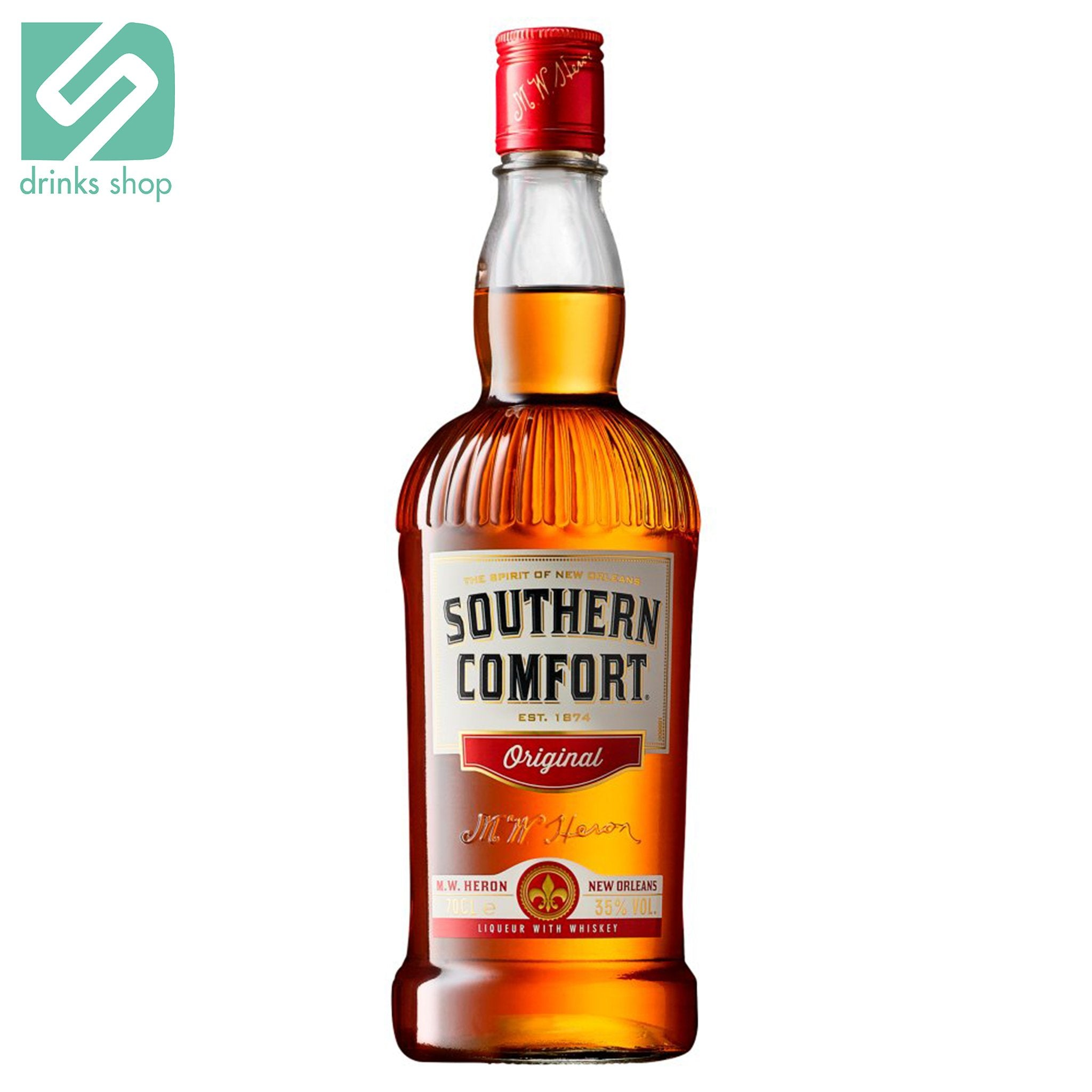 Southern Comfort Original Liqueur with Whiskey 70cl, Whisky - Image 1