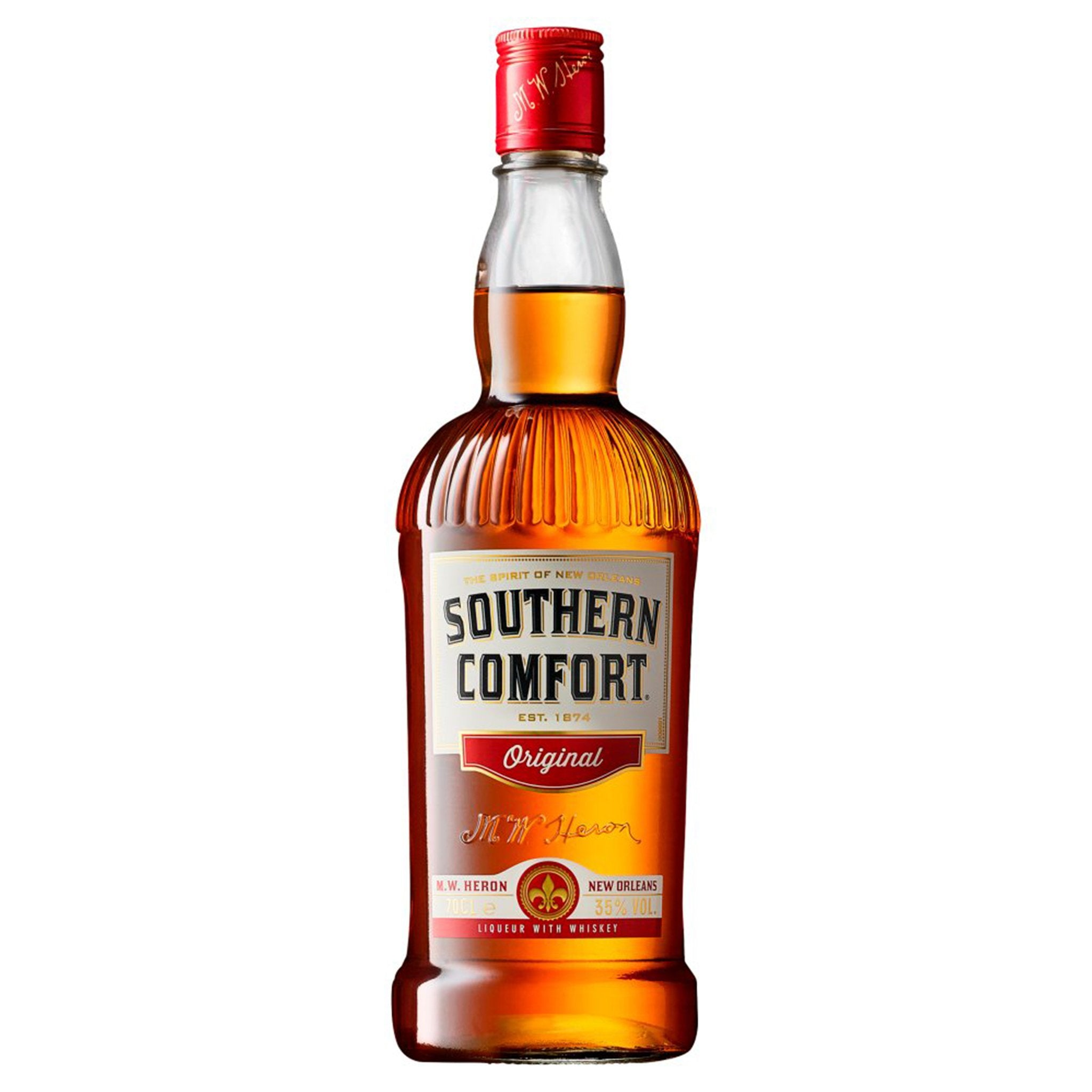 Southern Comfort Original Liqueur with Whiskey 70cl, Whisky - Image 0