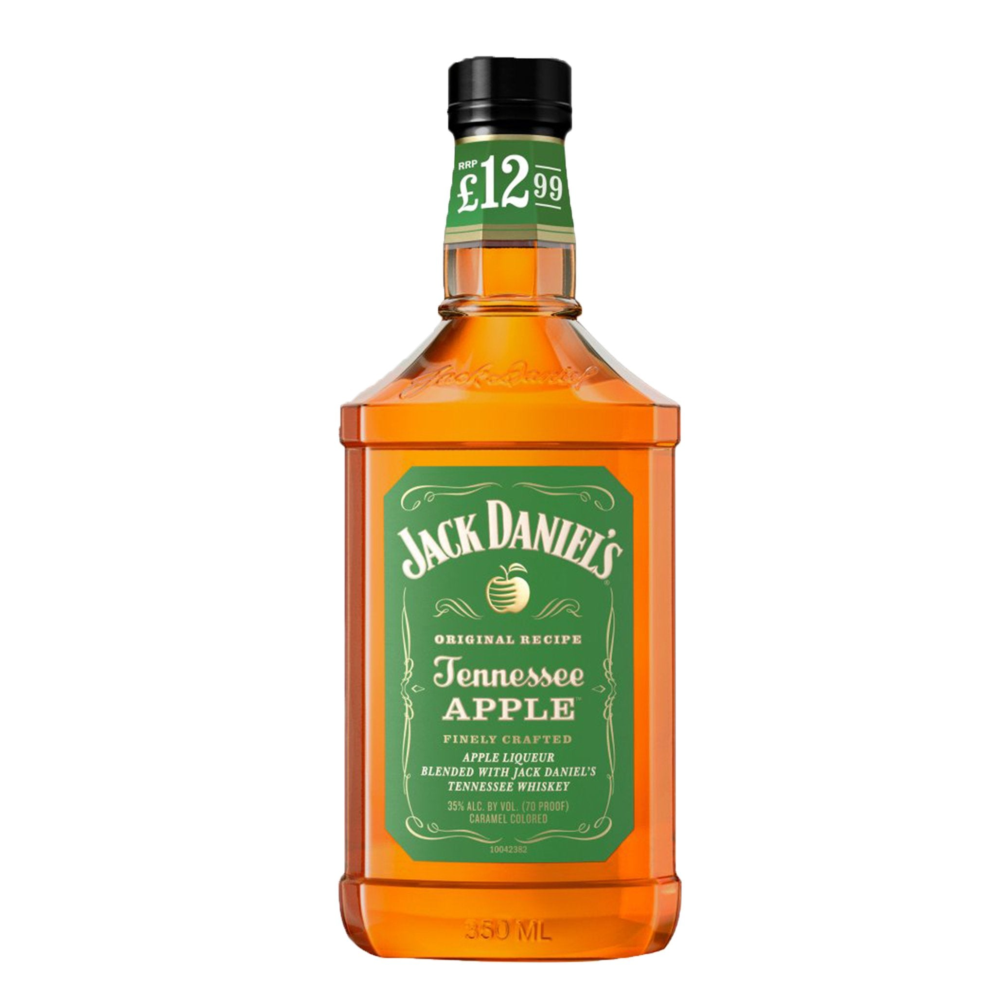 Jack Daniel's Tennessee Whiskey Blended with Apple Liqueur 35cl PMP, Alcoholic Beverages by Drinks Shop