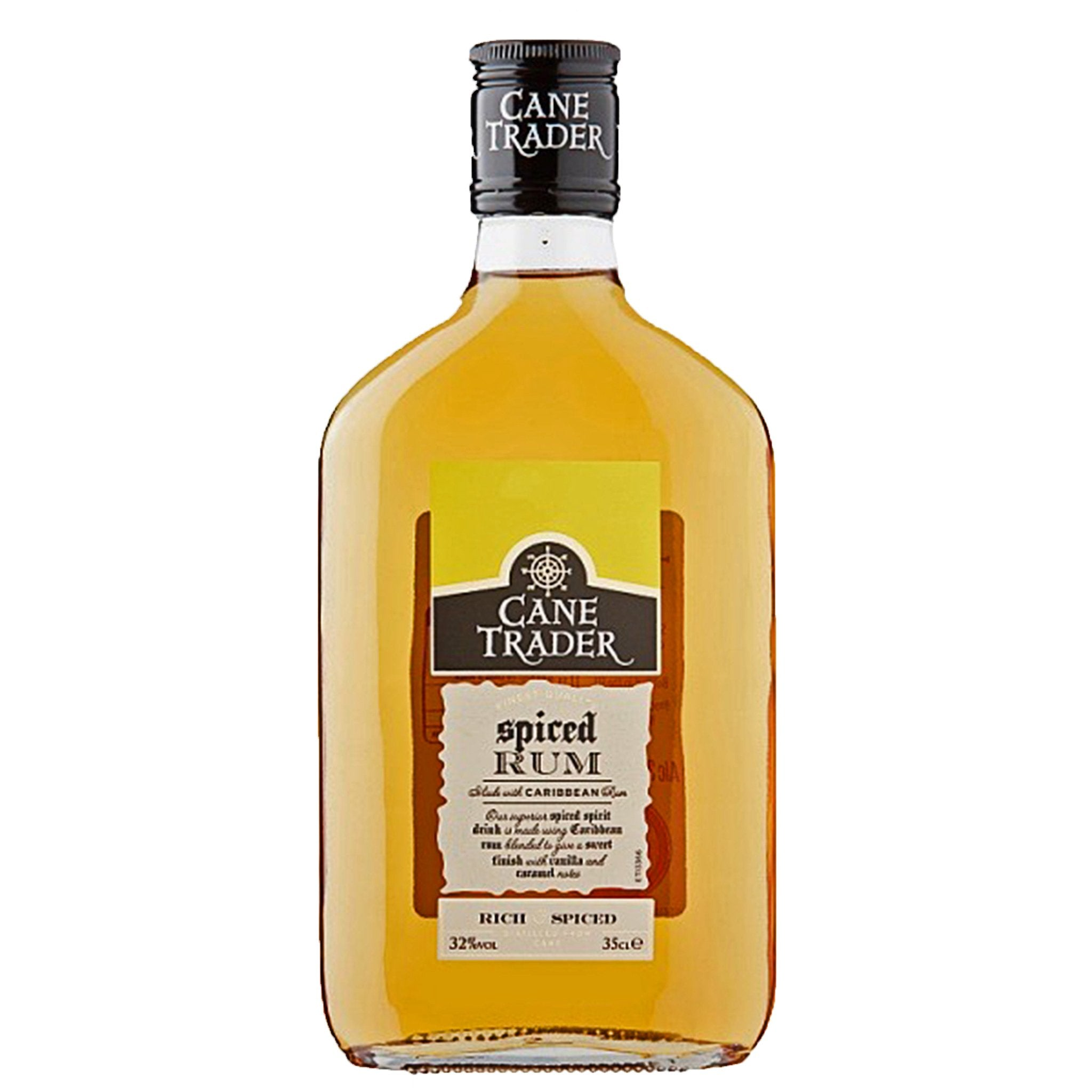 Cane Trader Spiced Rum 35cl, Rum by Drinks Shop
