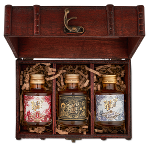 Rum Miniatures Gift Chest | The Pirate Range - DrinksShop.co.uk
