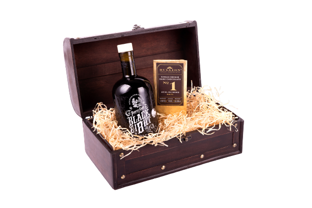 Black Ei8ht Rum Gift Chest | The Pirate Range, Beverages by Drinks Shop