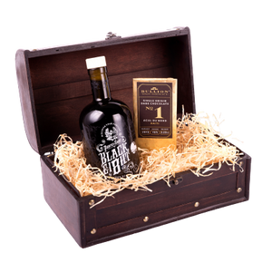 Black Ei8ht Rum Gift Chest | The Pirate Range - DrinksShop.co.uk