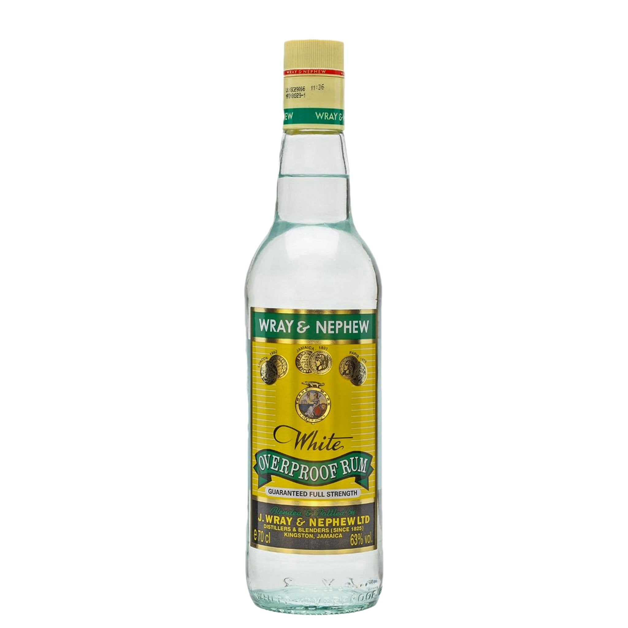 Wray & Nephew White Overproof Rum 70cl, Beverages by Drinks Shop