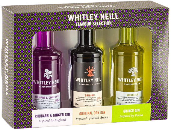 Whitley Neill Tasting Pack - England, South Africa and Persia Edition, Gin - Image 0