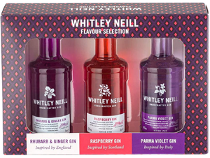 Whitley Neill Tasting Pack - England, Scotland and Italy Edition - DrinksShop.co.uk