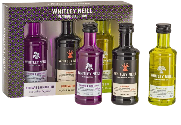 Whitley Neill Tasting Pack - England, South Africa and Persia Edition, Gin - Image 1