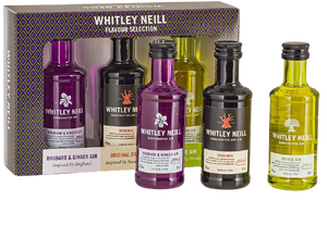 Whitley Neill Tasting Pack - England, South Africa and Persia Edition - DrinksShop.co.uk